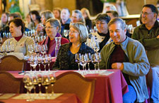 A tasting seminar at the Ahwahnee's Annual Vintner's Holiday Events at Yosemite National Park.