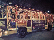 Sonoma Holiday Wine Trolley